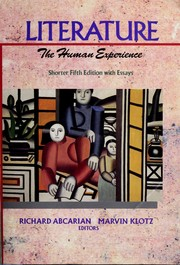 Literature : the human experience /