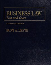 Business law : text and cases /