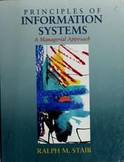 Principles of information systems : a managerial approach /