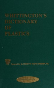 Whittington's dictionary of plastics /